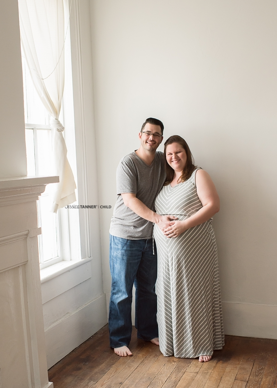 Boutique Maternity Photographer Jessica Tanner Photography Atlanta GA